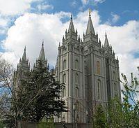 Mormoonien tabernaakkeli Salt Lake Cityssä