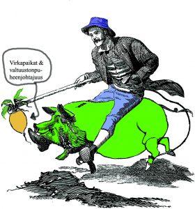 Vihreiden kusetus